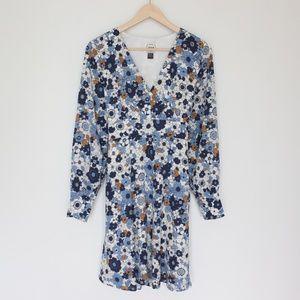 Joanie retro floral dress size US 8